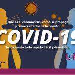 ¿Qué es el coronavirus, cómo se propaga y cómo evitarlo? Te lo cuento.