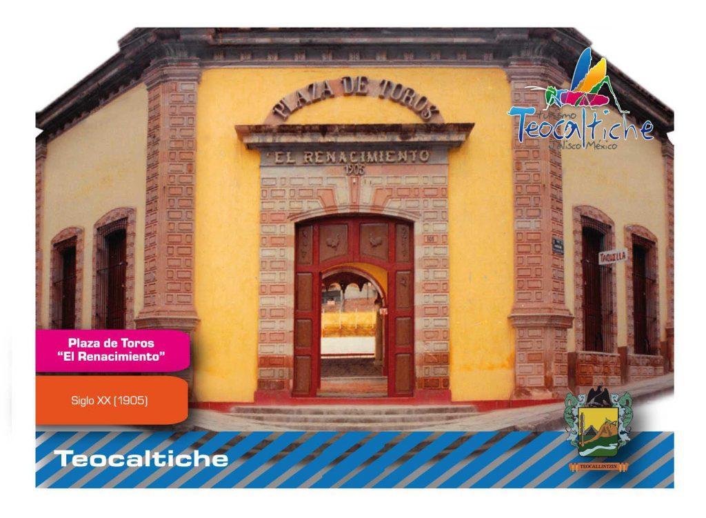 """Plaza de Toros """"El Renacimiento"""" de Teocaltiche"""