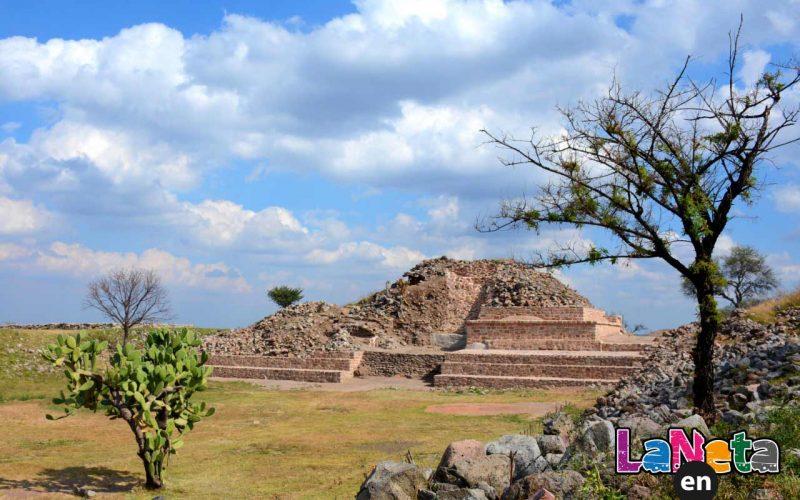 La pirámide de Teocaltitán